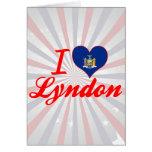 Amo Lyndon, Nueva York Tarjetón