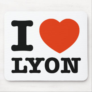 Amo Lyon Alfombrilla De Raton
