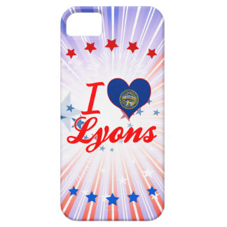 Amo Lyon, Nebraska iPhone 5 Funda