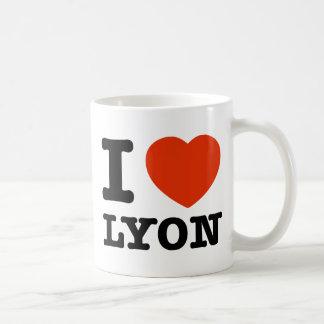 Amo Lyon Taza Clásica