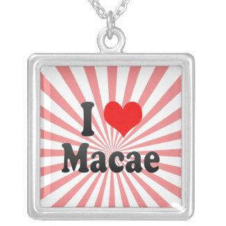 Amo Macae, el Brasil. Eu Amo O Macae, el Brasil Colgantes Personalizados