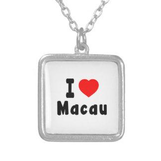 Amo Macao Colgante Personalizado