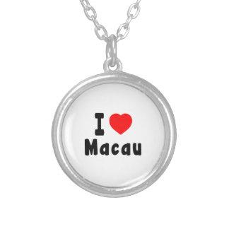 Amo Macao Collar Personalizado