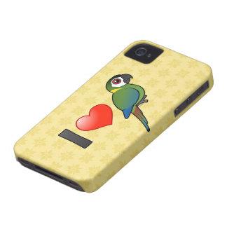 Amo Macaws De oro-agarrados iPhone 4 Case-Mate Fundas