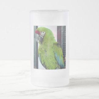 ¡Amo macaws! Taza De Cristal