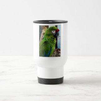 ¡Amo macaws! Taza De Viaje