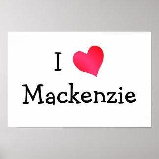 Amo Mackenzie Impresiones