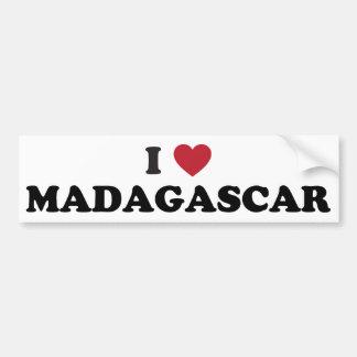 Amo Madagascar Pegatina Para Auto
