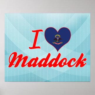 Amo Maddock, Dakota del Norte Impresiones