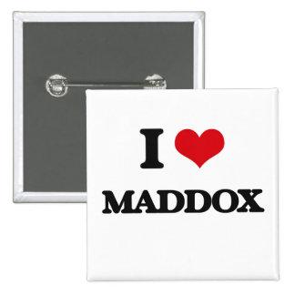 Amo Maddox Chapa Cuadrada 5 Cm