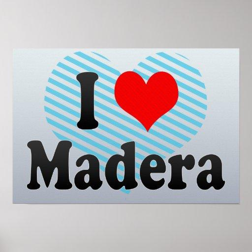 Amo Madera, Estados Unidos Posters