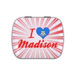 Amo Madison, Connecticut Jarrones De Caramelos