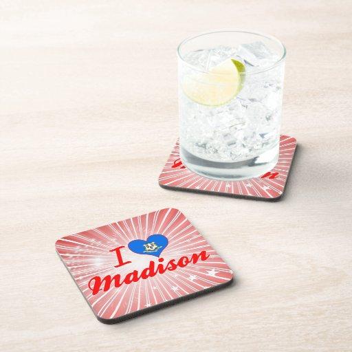 Amo Madison, Connecticut Posavasos De Bebida