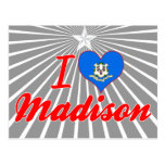 Amo Madison, Connecticut Postales