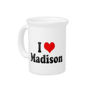 Amo Madison, Estados Unidos Jarras Para Bebida