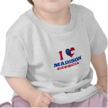 Amo Madison, Georgia Camiseta