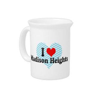 Amo Madison Heights, Estados Unidos Jarras De Beber