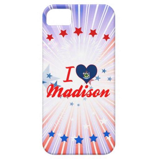 Amo Madison, Maine Funda Para iPhone 5 Barely There