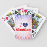 Amo Madison, New Hampshire Baraja Cartas De Poker