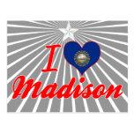 Amo Madison, New Hampshire Tarjetas Postales