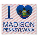 Amo Madison, PA Impresiones