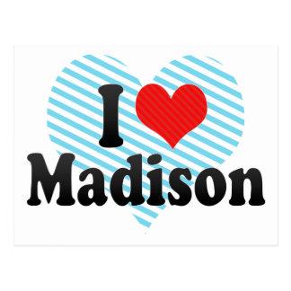 Amo Madison Postales