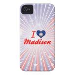 Amo Madison, Virginia iPhone 4 Case-Mate Cárcasa