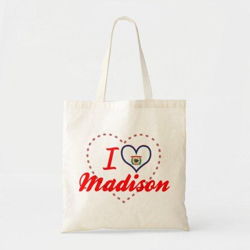 Amo Madison, Virginia Occidental Bolsa Tela Barata