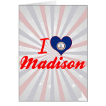 Amo Madison, Virginia Tarjeta