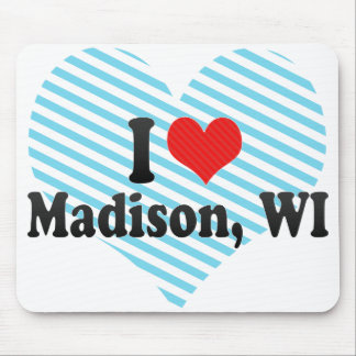 Amo Madison, WI Tapete De Raton