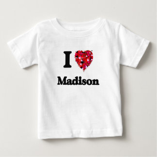 Amo Madison Wisconsin Remera