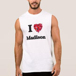 Amo Madison Wisconsin Remera Sin Mangas