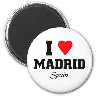 Amo Madrid, España Imán Redondo 5 Cm