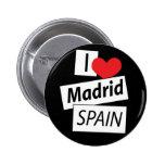 Amo Madrid España Pin