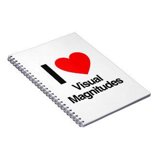 amo magnitudes visuales libro de apuntes