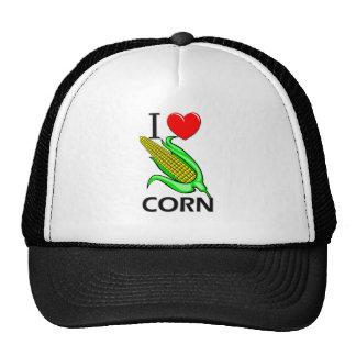 Amo maíz gorros bordados