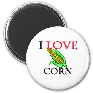 Amo maíz imán redondo 5 cm