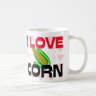 Amo maíz taza de café