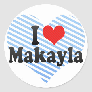 Amo Makayla Etiqueta