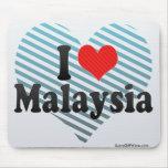 Amo Malasia Alfombrilla De Ratón