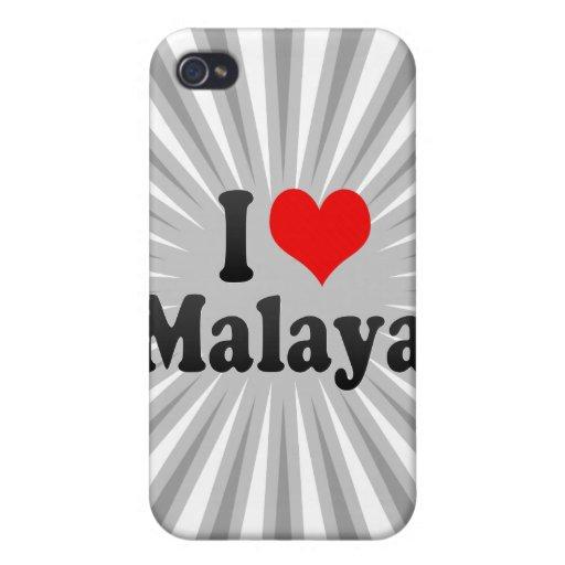 Amo Malaya iPhone 4/4S Carcasas