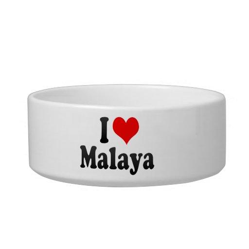 Amo Malaya Tazón Para Gato