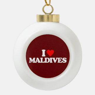 AMO MALDIVAS ADORNO DE CERÁMICA EN FORMA DE BOLA
