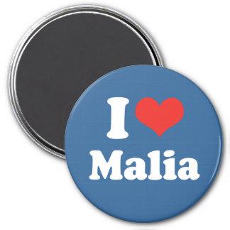 AMO MALIA - .PNG IMÁN DE FRIGORIFICO