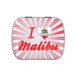 Amo Malibu, California Jarrones De Caramelos