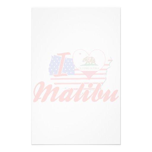 Amo Malibu, California Papeleria