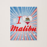 Amo Malibu, California Puzzle Con Fotos