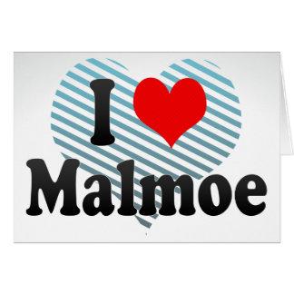 Amo Malmoe, Suecia Tarjeta Pequeña