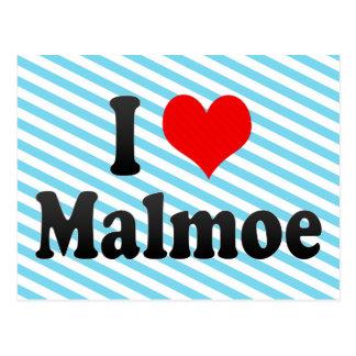 Amo Malmoe, Suecia Tarjetas Postales