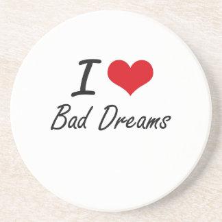 Amo malos sueños posavasos manualidades